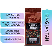Awi Coffee King Jantan Peaberry 250gr Bubuk|MandhelingSpecialty|Lanang