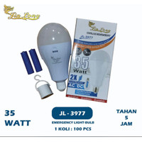 Jin Long Lampu Emergency 35 Watt JL 3977 2 Baterai Tahan 5 jam