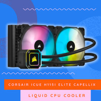 Corsair iCUE H115i ELITE CAPELLIX Liquid CPU Cooler