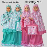 Mukena Anak Unicorn Cup