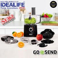 IDEALIFE Electric Food Processor Penggiling Pemulat Listrik 2.1L IL222
