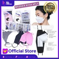 Maker KF94, Masker 4Ply Convex, Masker korea 4Ply, Evo KN95, N95 mask
