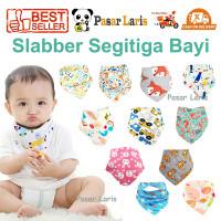 Slabber Segitiga / Slaber / Celemek Bayi / Baby Bib /Scarf/ Tadah Liur