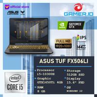 Asus Gaming TUF FX506LI | GTX1650Ti 144Hz i5 10300 8GB 512GB SSD