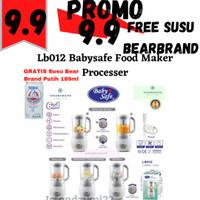 LB012 BabySafe Baby Food Maker Processor / Baby Safe Steamer Blender