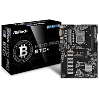 asrock motherboard h110 pro btc+ No Bundle!
