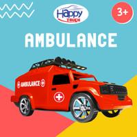 Happy Truck Hammer Ambulance - Mobilan Anak
