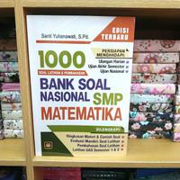1000 BANK SOAL NASIONAL SMP MATEMATIKA Soal &Pembahasan edisi baru
