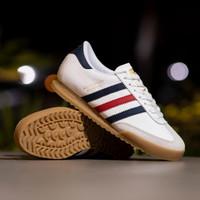 Sepatu Pria Adidas Beckenbauer White France Sole Gum Original BNWB