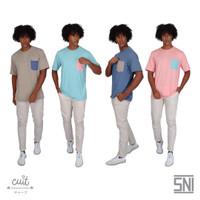 CUIT Family Heiji Pocket T-Shirt Dewasa Natsu Series