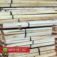 Kayu kaso balok galar kayu racuk Meranti murah bahan proyek