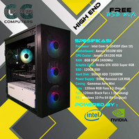 PC Gaming Intel | i5-10400F| GTX 1650 SUPER 4GB | 8GB RAM |120GB SSD