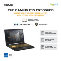 ASUS TUF FX506HEB-I7R5B6G-O i7-11800H 16GB 512GB RTX3050Ti 4GB W10+OHS