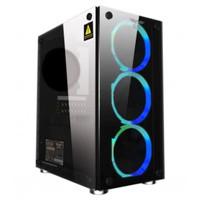 case armageddon nimitz tr1100 fan biru plus powersupply white black