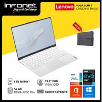 Lenovo Yoga Slim 7 Carbon(i7-1165G7/1TB SSD/16GB/Intel Iris/13+OHS)