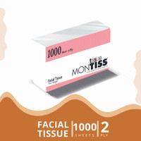 Montiss Facial Tissue 1000 Sheets