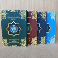Alquran Samsia Non Terjemah Uk Besar A4, Al-Quran Utsmani 15 Bari HVS