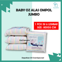 ORIGINAL Alas Ompol Garis JUMBO Baby Oz Perlak Pipis Anak Bayi