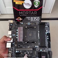 Motherboard Msi B350M Mortar Amd AM4 Gaming