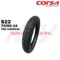 Ban Luar Corsa 70-90-14 Ring 14 TL Tubles S22 34P