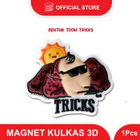 MAGNET KULKAS 3D LUCU BENTUK TOOM TRICKS