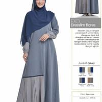 Rabbani Exo Dresslim Flores Gamis Baju Muslim Wanita Dewasa