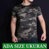 Baju Kaos Army Pria Loreng Tentara Tbr Gym Fitness terbaru Berkualitas