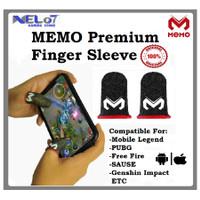 Original Memo Finger Sleeve PUBG FF ML CODM Sarung Jempol MEMO