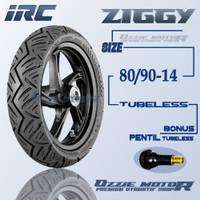 IRC ZIGGY 80/90-14 RING 14 BAN MOTOR MATIC TUBELESS ENDURANCE HONDA BE