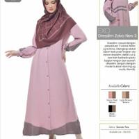 Rabbani Exo Dresslim Zaiva New 3 Gamis Baju Muslim Wanita Dewasa