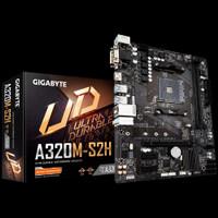Paket Bundle Gigabyte A320M-S2H + AMD A6 9500 Dual Core + DDR4 4G