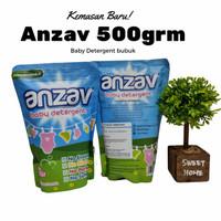 Deterjen bayi bubuk Anzav 500gram clodi pakaian bayi kulit sensitif