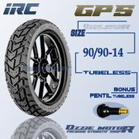 IRC GP5 90/90-14 RING 14 BAN MOTOR MATIC TUBELESS DUAL PURPOSE HONDA