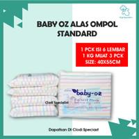 Alas Ompol Garis Baby Oz - Perlak Lurik - Tatakan Pipis Anak Bayi