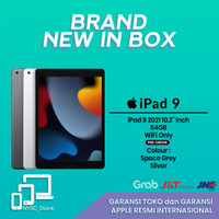 iPad 9 2021 10.2 Inch 64Gb WIFI ONLY SPACE GREY GREY SILVER