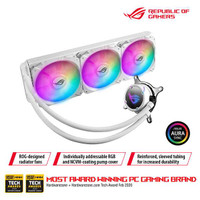 ASUS ROG Strix LC 360 RGB White Edition all-in-one liquid CPU cooler