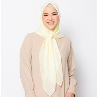 ZM Zaskia Mecca - Sana Butter Hijab Kerudung Segi Empat