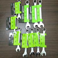 Kunci Ring Pas Satuan 6,7,8,9,10,11,12,13,14,15,16 mm Tekiro