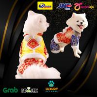 Baju Cina Anjing / Baju Imlek Anjing / Jumpsuit Anjing / Kostum Anjing