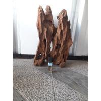 kayu aquascape rantek karakter ukuran L 05