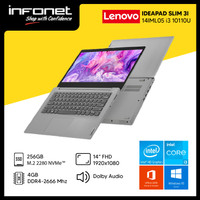 LENOVO IDEAPAD SLIM 3I 14IML05 I3 10110U 4GB 256GB 14 FHD W10 OHS