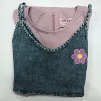 ( 7 - 14 TAHUN ) BAJU DRESS TUNIK FASHION ANAK PEREMPUAN ZR515 GE