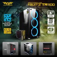 Armaggeddon Nimitz TR1100 Micro ATX Gaming Case With PSU & Cooling Fan