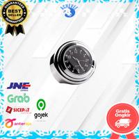 Aksesoris Dekorasi Motor Jam Model Tempel NMAX Beat PCX Vixion
