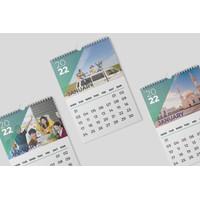 Kalender Dinding 2022 uk. A3 Kalender Custom Bebas Suka suka anda