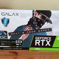 Galax RTX 3060 12GB GDDR6 - LHR