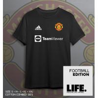 Kaos MU Jersey Manchester United Bahan Katun Combed Adem Print Distro