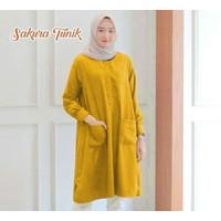 Tunik Wanita/ Tunik Busui / Tunik Muslimah / Babyterry Dress Wanita
