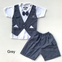 baju bayi tuxedo anak bayi pergi pesta kondangan lucu bestseller