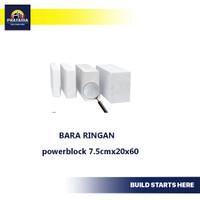 Bata ringan powerblock7.5cmx20x60